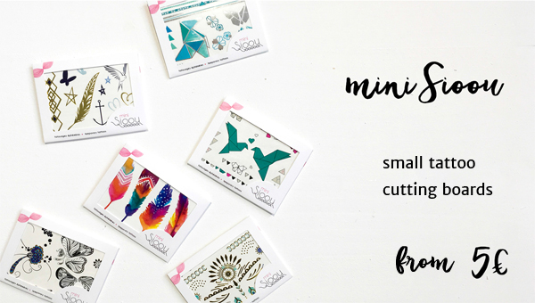 Mini Sioou : small tattoo sets