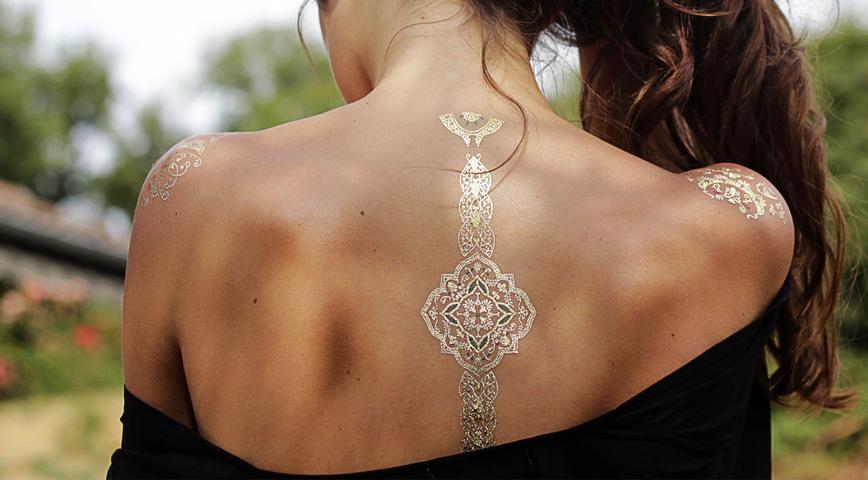 Parure de tattoos Azulejos par Sioou