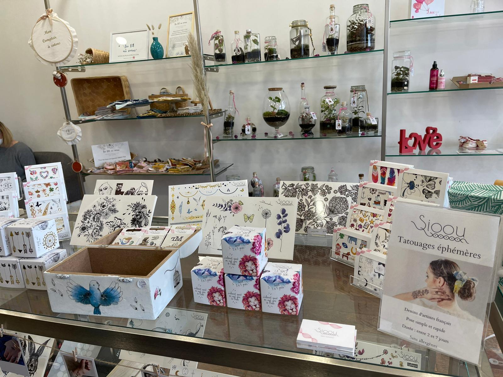 boutique éphémère Lyon tattoos Sioou