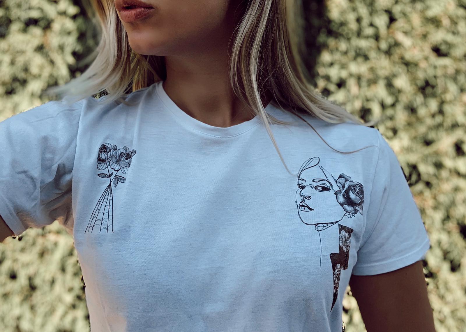 Customisation d'un T-Shirt avec des tattoos Sioou