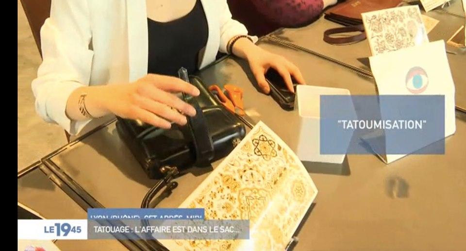 reportage sur la tattoomisation avec les tatouages éphémères Sioou sur M6