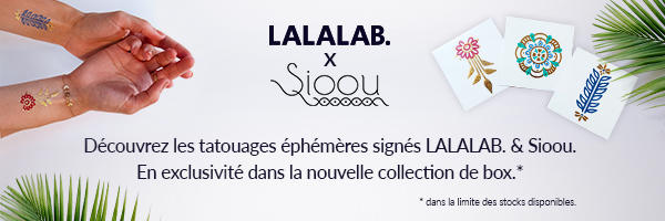 La collaboration exclusive de tattoo Lalalab. x Sioou